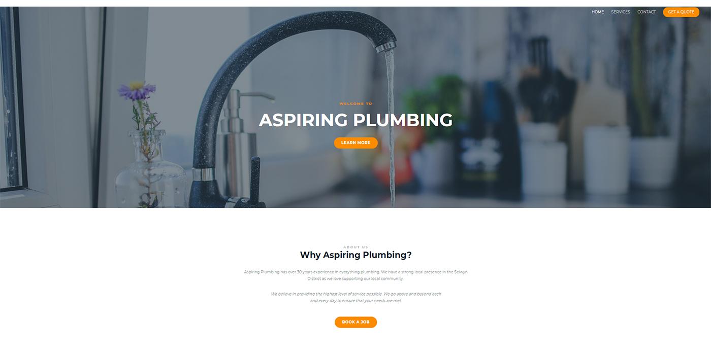 Aspiring Plumbing Homepage